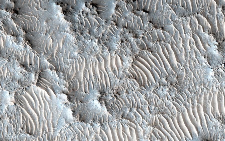 Возможная посадочная площадка для марсианской миссии 2020.