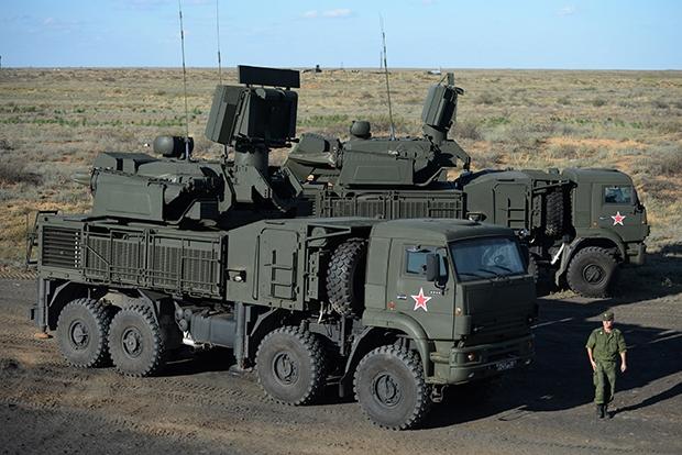 Зенитно-ракетный пушечный комплекс «Панцирь С1»