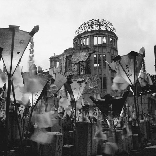 Купола в Хиросиме после бомбежки, 1953 года.