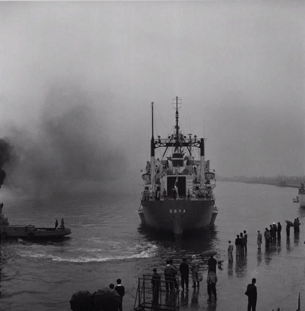 Антарктический корабль, 1956 год.