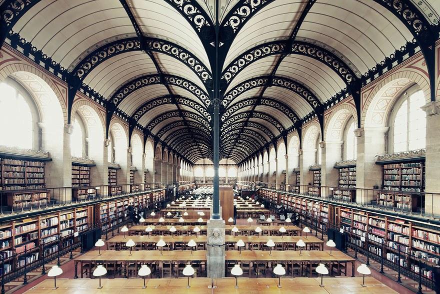 Библиотека Сент-Женевьев, Париж