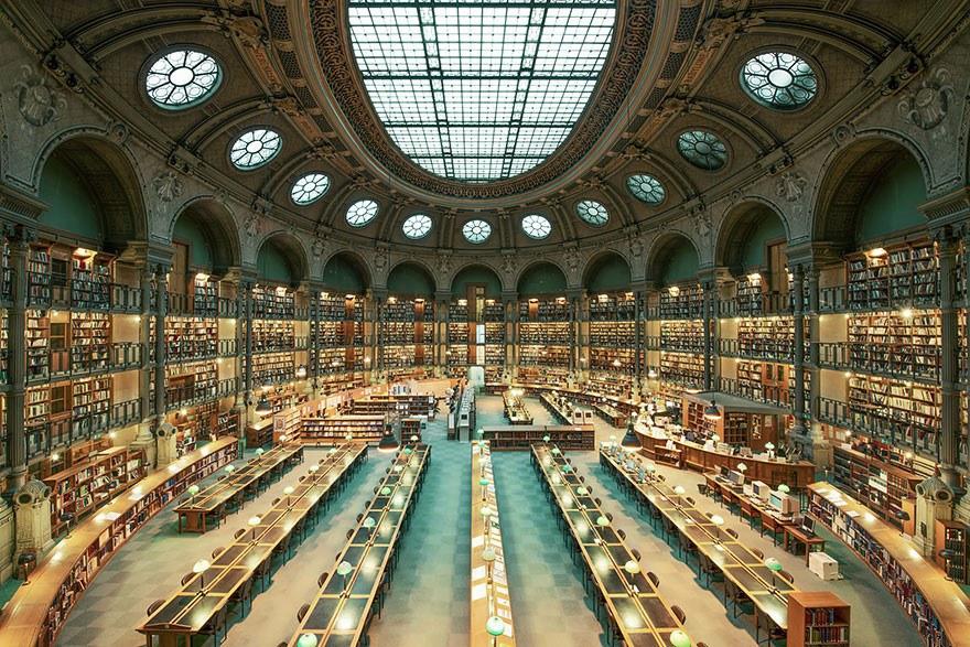 Библиотека Франции, Париж