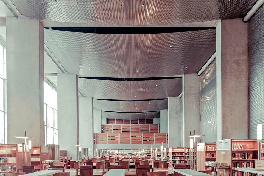Библиотека Франсуа Миттерана, Париж