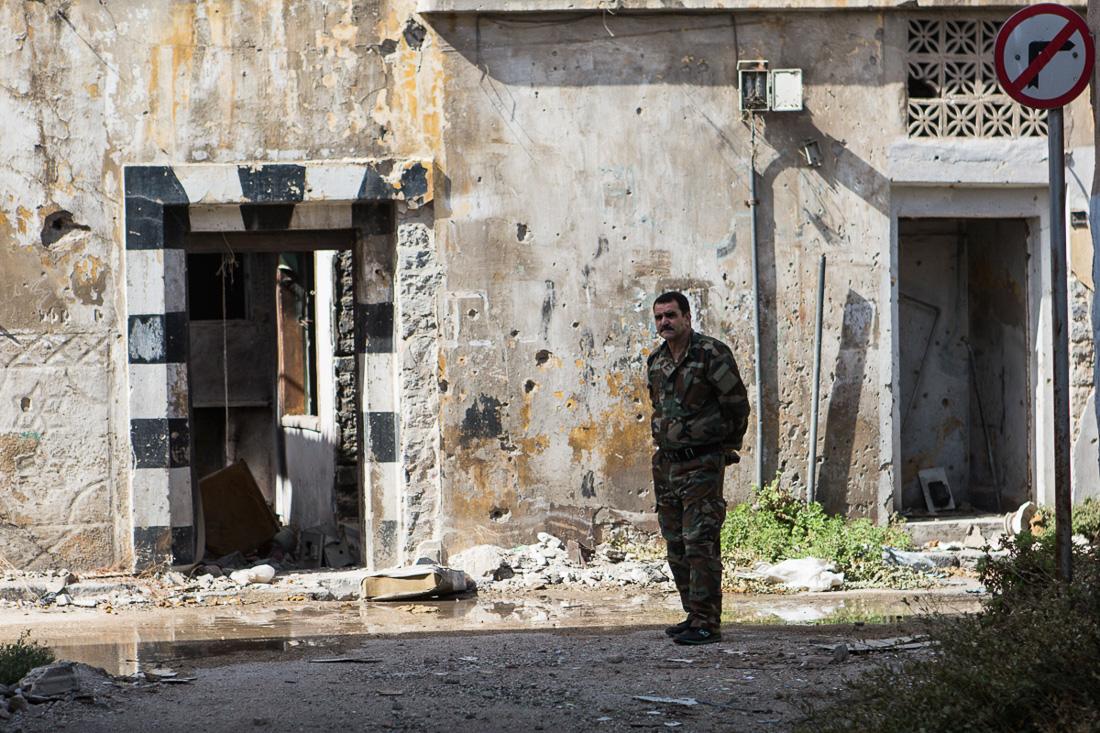 Homs, Syria, October 2015
