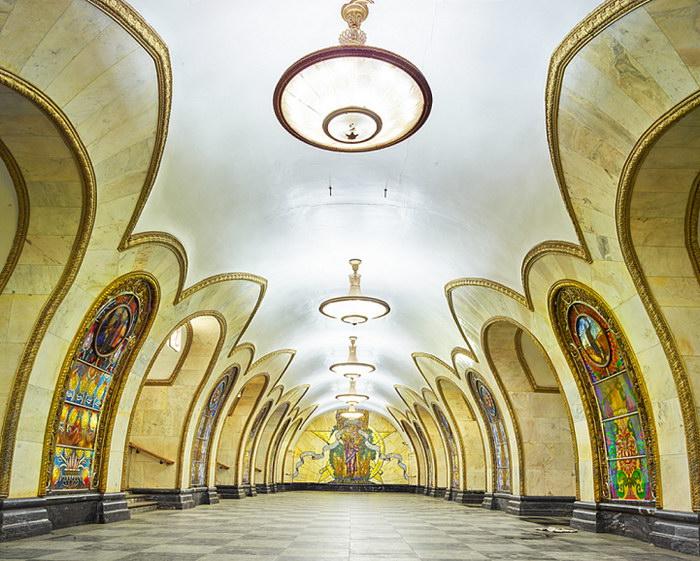 Новослободская станция