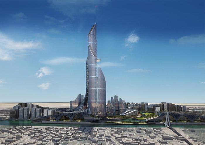 The Bride - проект самой высокой башни в мире.
