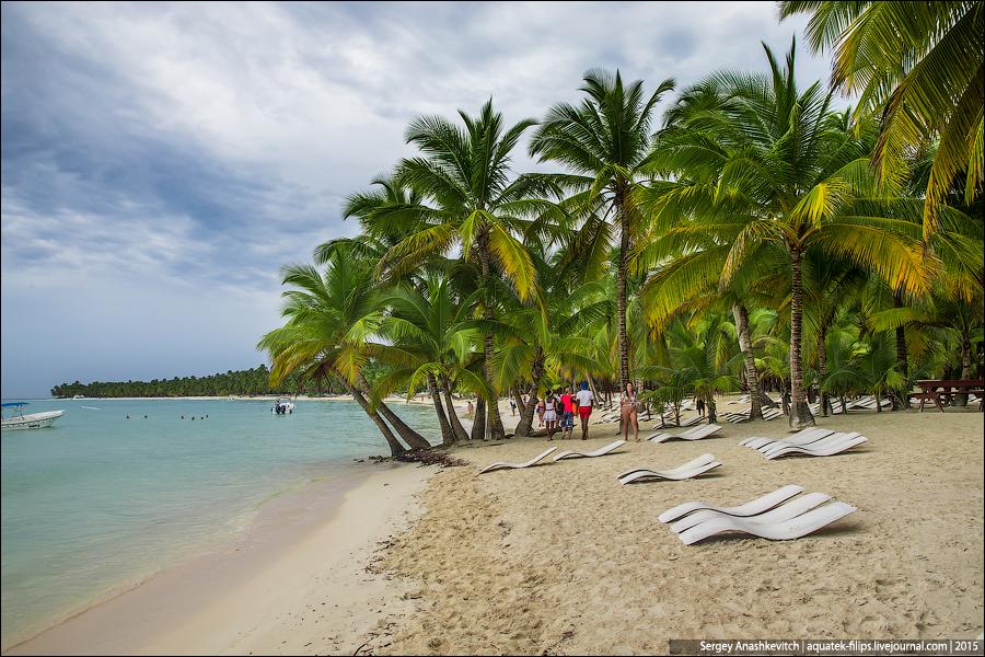 Остров Саона, Доминикана, ноябрь 2015