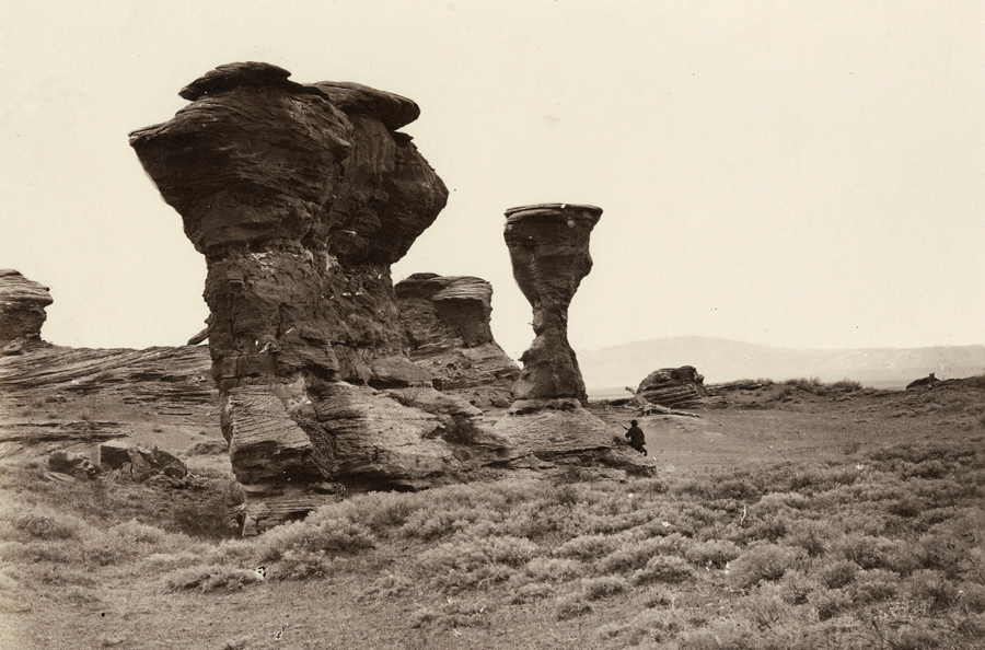 Vase or Dial Rocks, Red Buttes
