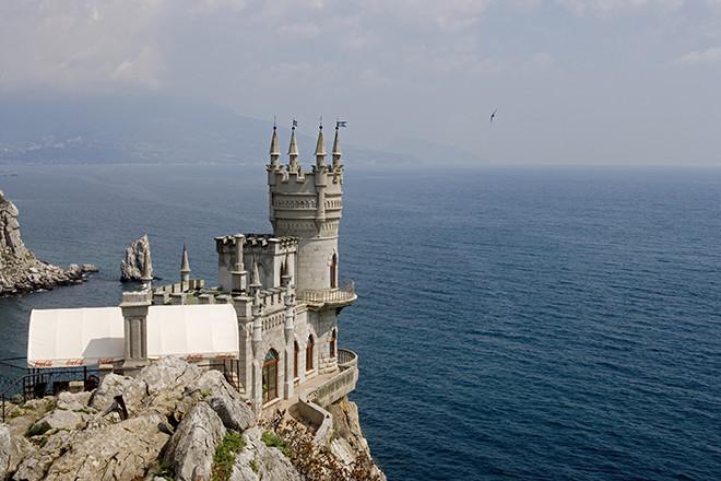 Black Sea, Alupka, near Yalta, Crimea, Russia
