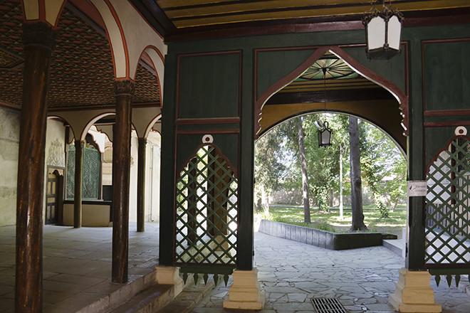 Bakhchysaray Palace in Central Crimea.