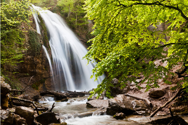 Водопад Джур-Джур, Алушта