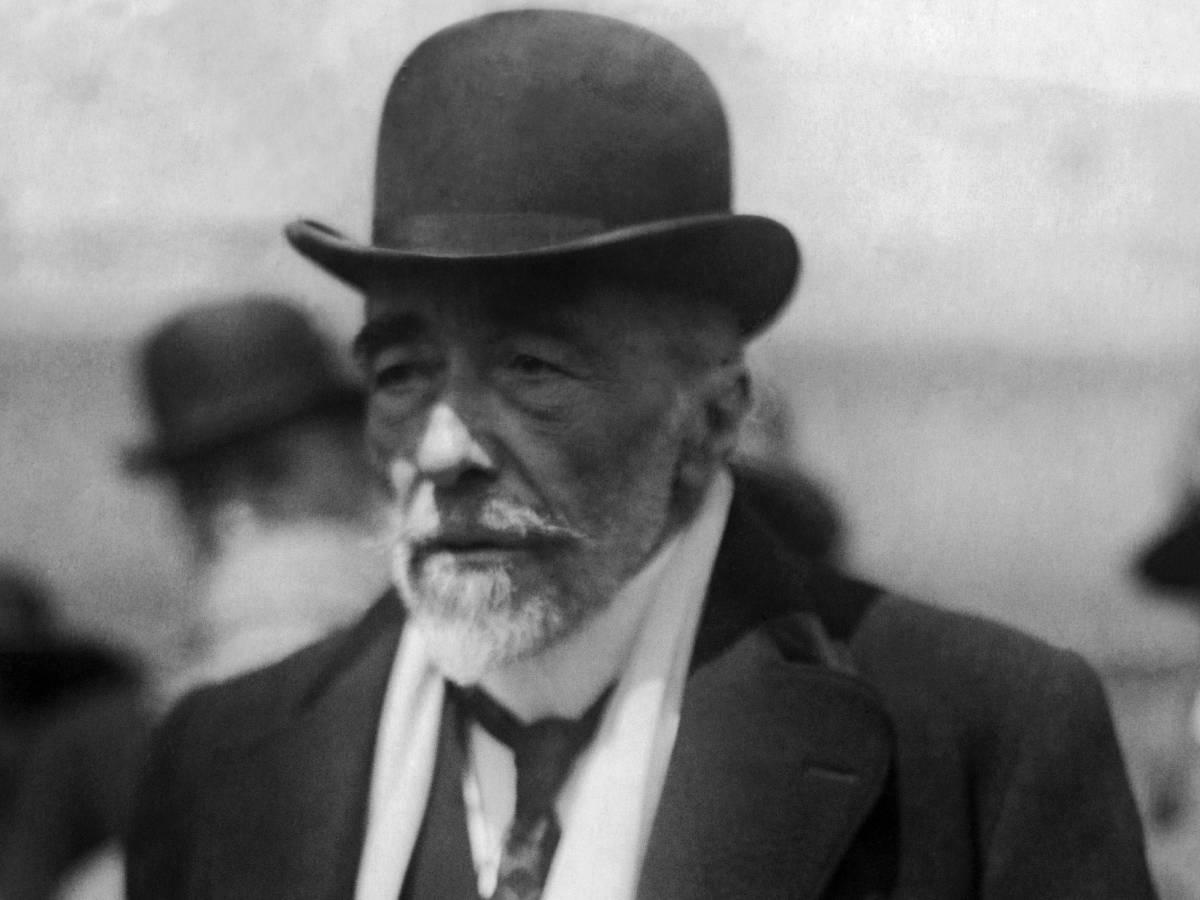 Рукопись Джозефа Конрада (Joseph Conrad)