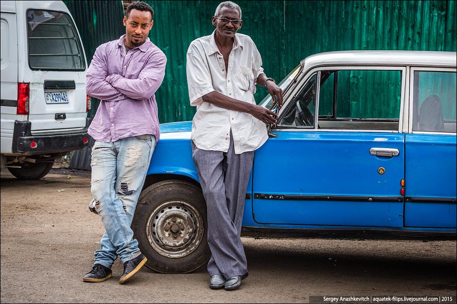 Аддис-Абеба, Эфиопия, декабрь 2015.