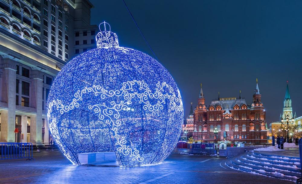 Лучшие места россии на новый год