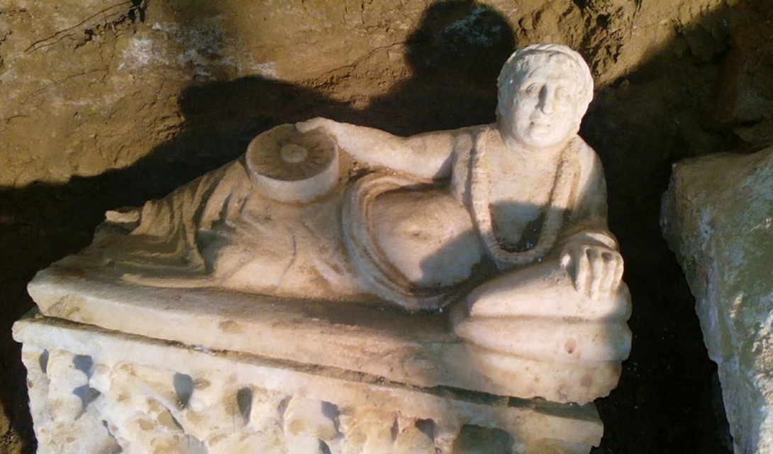 Этрусская гробница