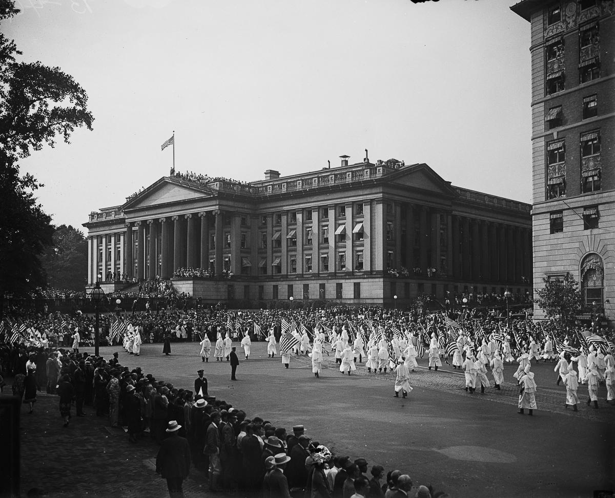 Шествие Ку-клукс-клана 13 сентября 1926 года