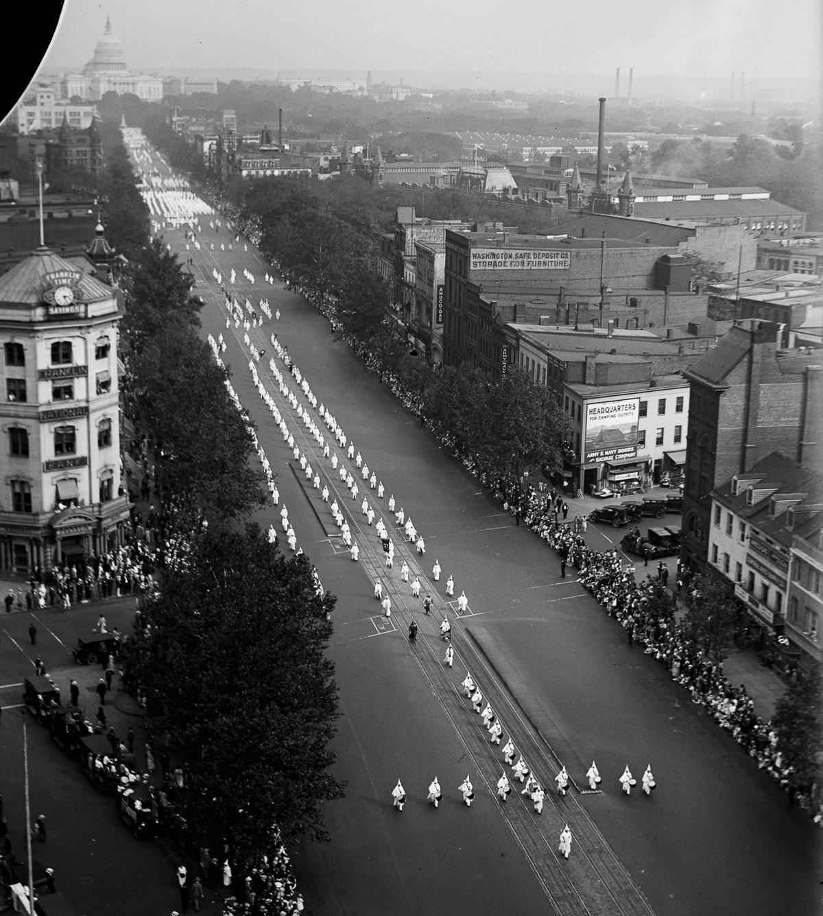 Ku Klux Klan parade 1926