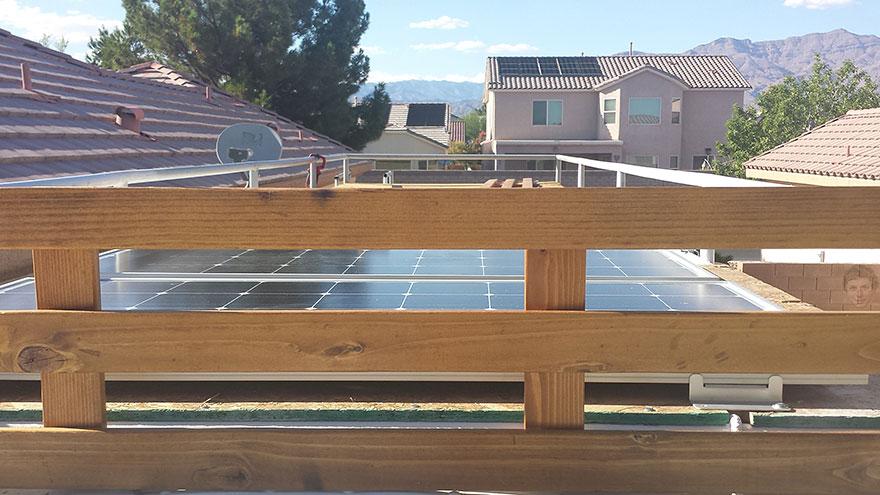 Солнечная электростанция, преобразователь, инвертор, аккумуляторы и т. д.