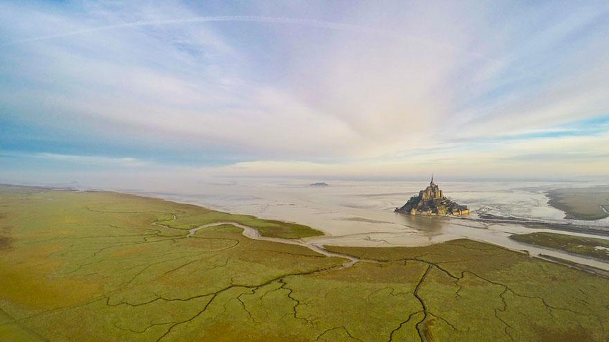 Мон-Сен-Мишель, В Нормандии, Франция