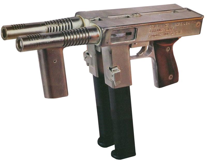 Латвийский пистолет-пулемет SerLea