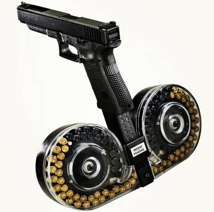 Магазин увеличенной ёмкости для пистолета Глок