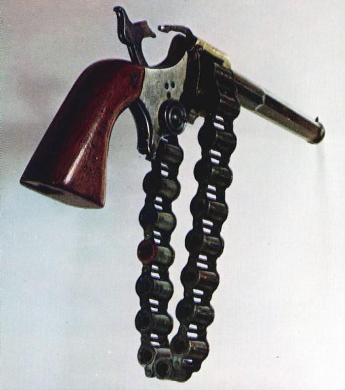 Револьвер с цепью