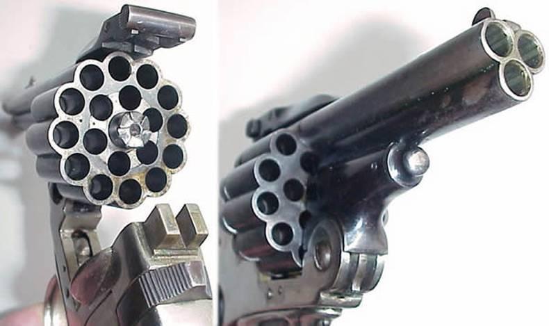 Если двух стволов в револьвере вам уже мало, можно воспользоваться трехствольным