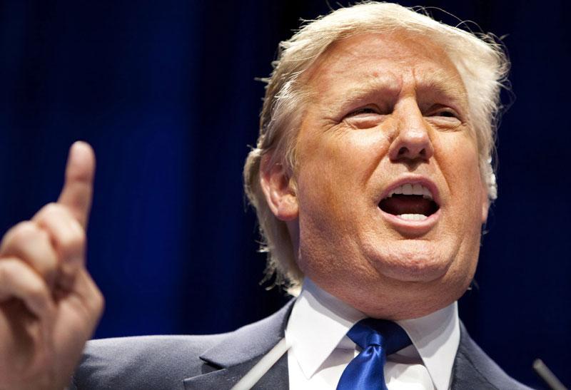 3 место: миллиардер и кандидат в президенты США Дональд Трамп.