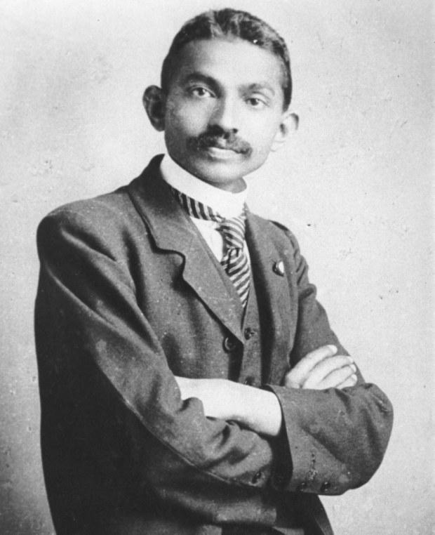 Махатма Ганди — лидер Индийского движения за независимость