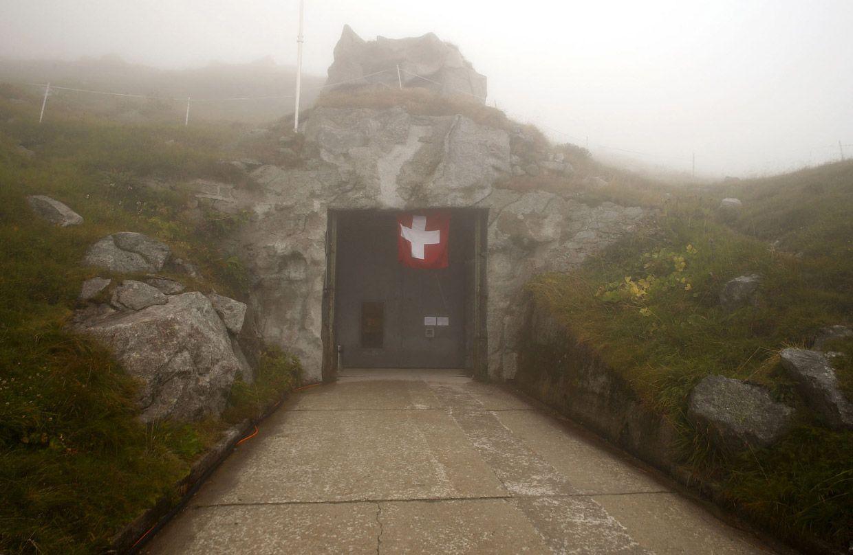 Сен-Готард – самый важный горный перевал швейцарских Альп. Этот ход в другой секретный бункер.