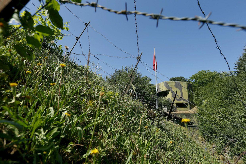 Артиллерийский бункер был построен в Швейцарии в 1937-1939. И работал 1988-1989,. Теперь это музей.