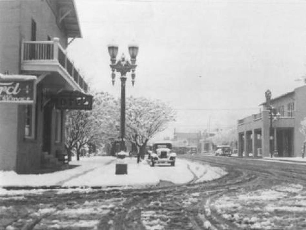 Фримонт-Стрит, 1921