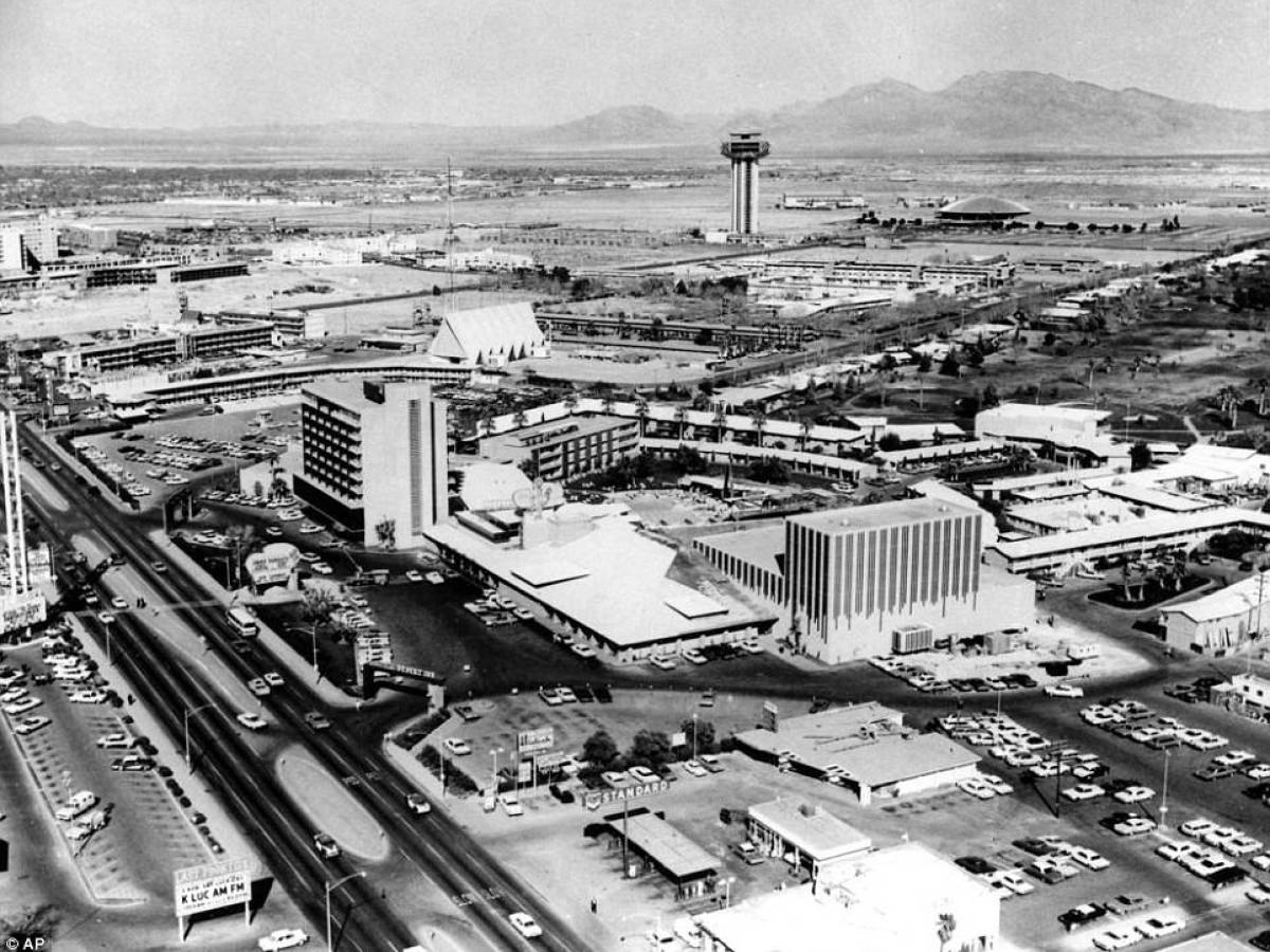 Лас-Вегас вид сверху, 1964
