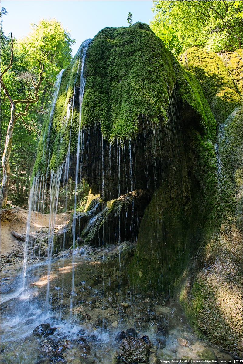 Большой Каньон и водопад Серебрянные Струи. Июнь 2013.