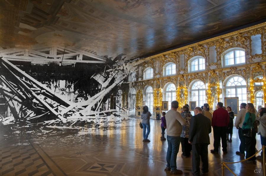 Большой зал Екатерининского дворца
