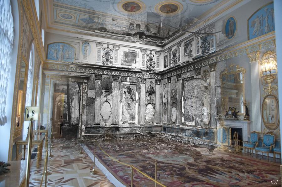 Арабесковый зал Екатерининского дворца
