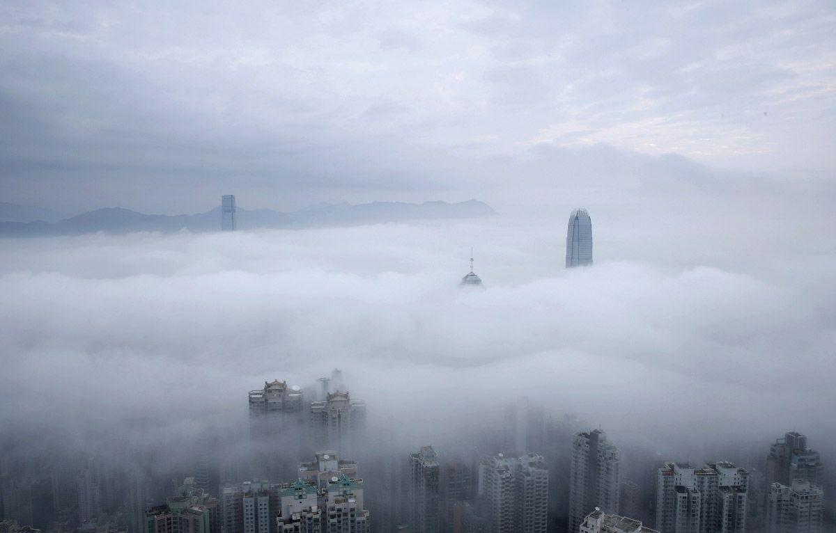 Облака в Гонконге, Китай