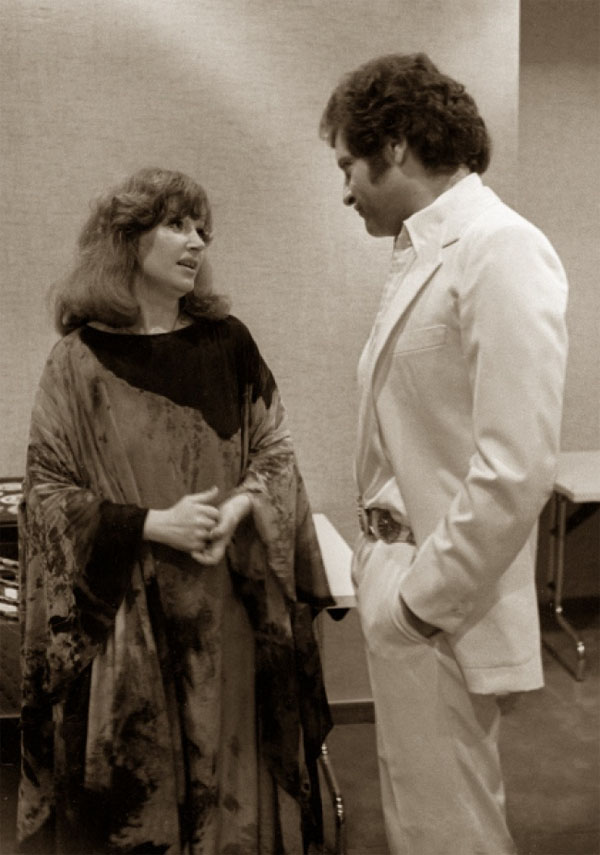 Алла Пугачева и Джо Дассен. 1979 год.
