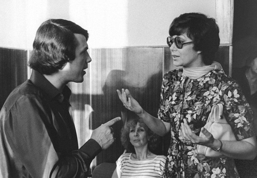 Адамо Сальваторе и Эдита Пьеха, 1981 год.