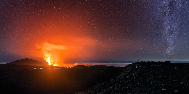 С начала 70-х годов ХХ века насчитывалось более 20 извержений.