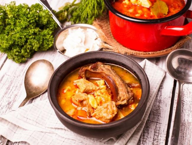 Венгерский суп бограч