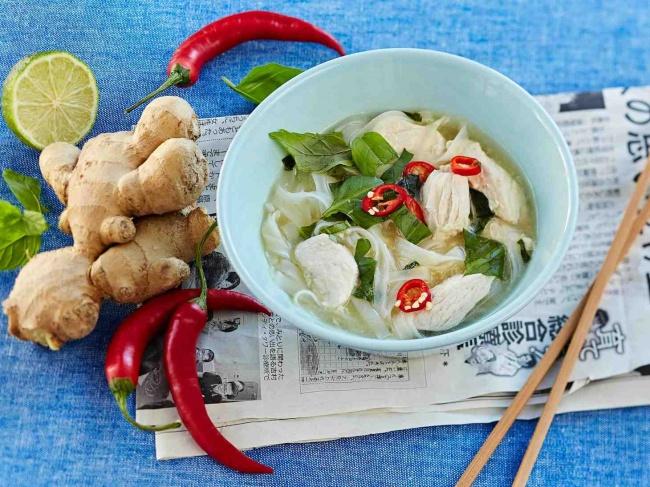 Вьетнамский суп фо с курицей