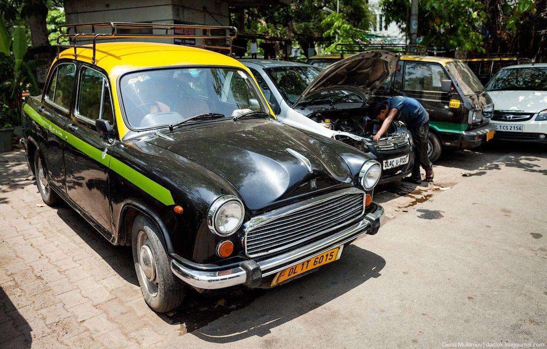 Этот автомобиль Хиндустан «посол», выпускался с 1957 до 2014 года без каких-либо существенных изменений и улучшений. Этот автомобиль часто используют как такси.