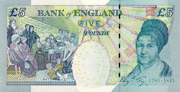 Феминистка Элизабет Фрай (Британия)