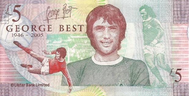 Футболист Джордж Бест (Северная Ирландия)