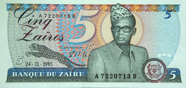 Диктатор Жозеф Мобуту (Заир, сейчас Конго)