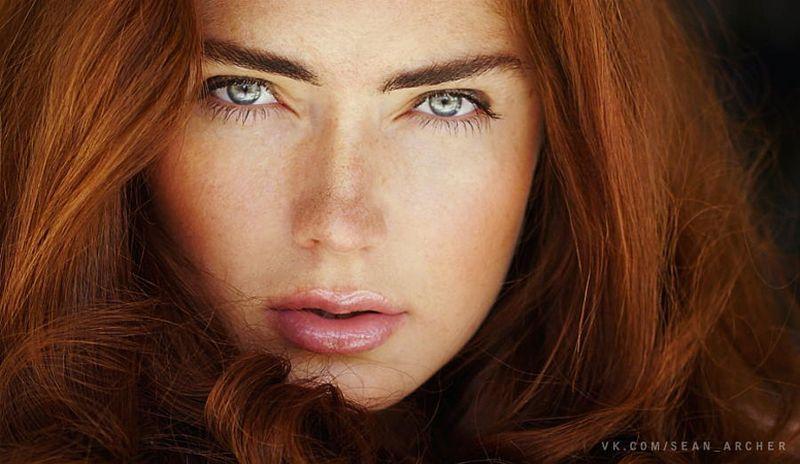 Портреты фотографа Шона Арчера: Естественный свет женщины