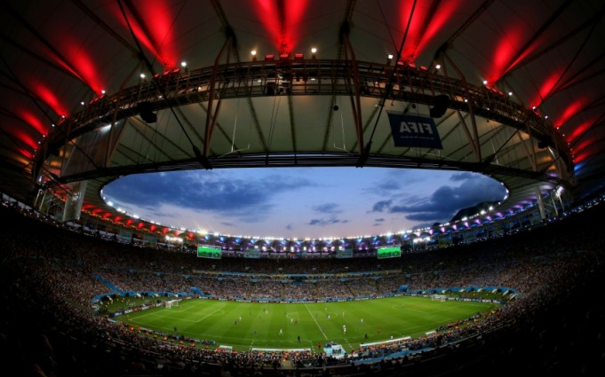 Стадион Маракана, Рио-де-Жанейро, Бразилия