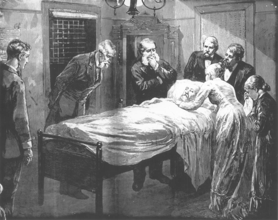 Джеймс Гарфилд умер от рук врачей