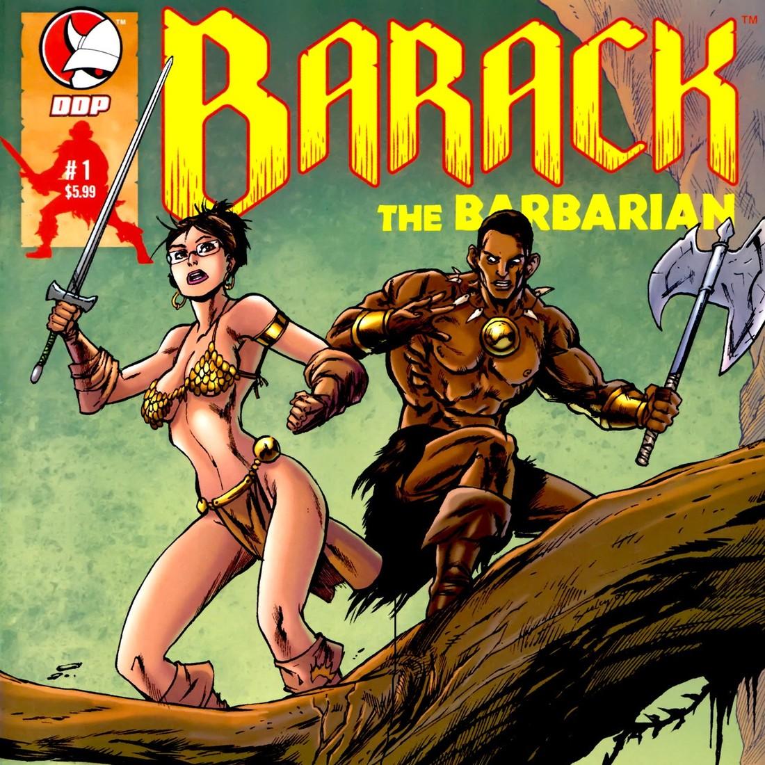 Барак Обама стал персонажем комиксов